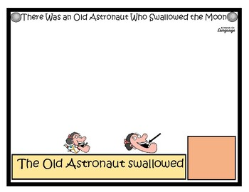 There Was an Old Astronaut Who Swallowed the Moon, Story Supports/Activities