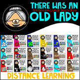 There Was an Old Lady BUNDLE Google Classroom Distance Learning