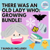 There Was an Old Lady Speech & Language Activities | Growi