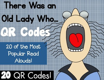 There Was an Old Lady QR Codes
