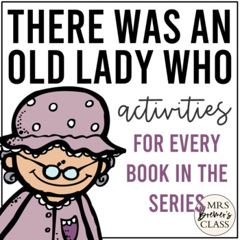 There Was an Old Lady Who Swallowed (for EVERY book in the series!)