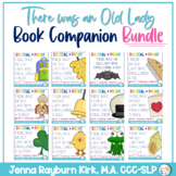 There Was an Old Lady Who Swallowed A ::BUNDLE:: Print and