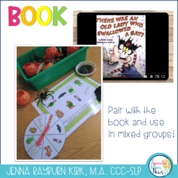 There Was an Old Lady Who Swallowed A Bat: Speech & Language  Activities