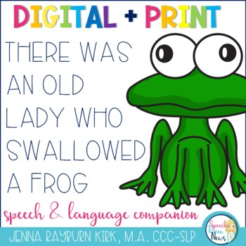 There Was an Old Lady Who Swallowed A Frog Speech & Langua