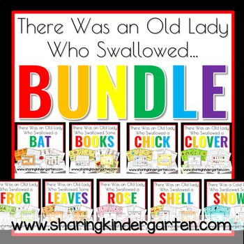 There Was an Old Lady Who Swallowed... Bundle