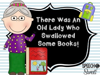 There Was an Old Lady Who Swallowed Some Books: Book Companion