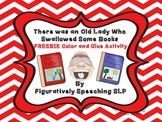 There Was an Old Lady Who Swallowed Some Books Color and G