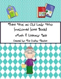 There Was an Old Lady Who Swallowed Some Books! Math & Literacy Unit