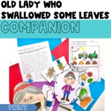 Companion for Old Lady Who Swallowed Some Leaves Fall Activity Pack