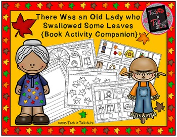There Was an Old Lady Who Swallowed Some Leaves - Book Act