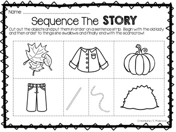 There Was an Old Lady Who Swallowed Some Leaves Extension Activities