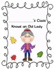 There Was an Old Lady Who Swallowed Some Leaves! Math & Lit Unit