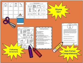 There Was an Old Lady Who Swallowed Some Leaves:  No-Prep Printables Pack