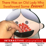There Was an Old Lady Who Swallowed Some Leaves (Story Elements Plot Sequencing)