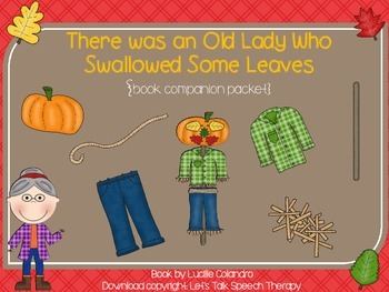 There Was an Old Lady Who Swallowed Some Leaves book companion
