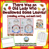 There Was an Old Lady Who Swallowed Some Leaves! {reading/math}