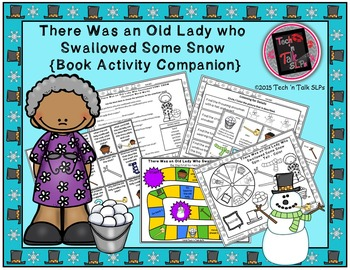 There Was an Old Lady Who Swallowed Some Snow (Book Activity Companion)