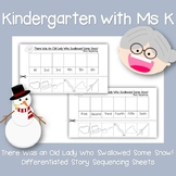 Swallowed Some Snow! Differentiated Sequencing Sheets