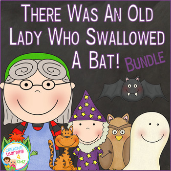 There Was an Old Lady Who Swallowed a Bat! Set