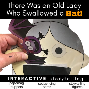 There Was an Old Lady Who Swallowed a Bat Activities