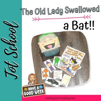 There Was an Old Lady Who Swallowed a Bat-retell