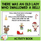 There Was an Old Lady Who Swallowed a Bell! Activity Book Christmas