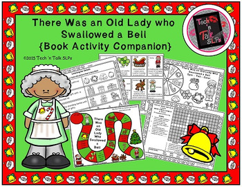 There Was an Old Lady Who Swallowed a Bell (Book Activity