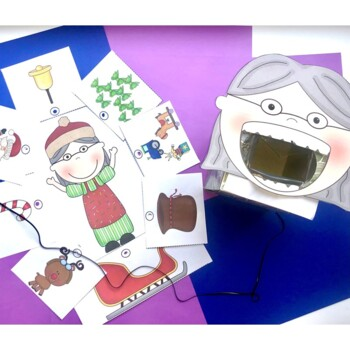 Companion for There was an Old Lady Who Swallowed a Bell Christmas Activity Pack