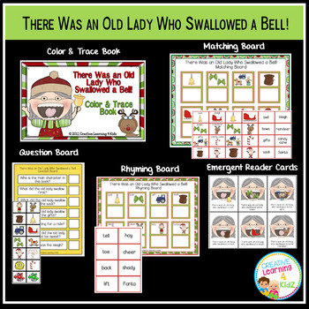 There Was an Old Lady Who Swallowed a Bell! Set