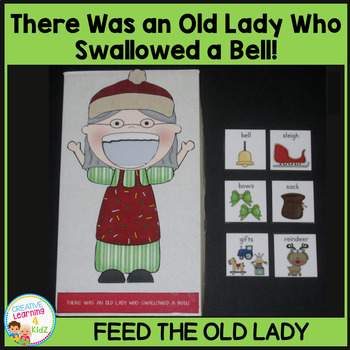 There Was an Old Lady Who Swallowed a Bell! Cut-Out Activity