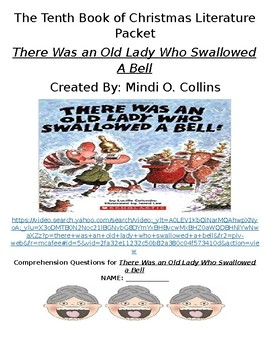 There Was an Old Lady Who Swallowed a Bell - Eleventh Book of Christmas