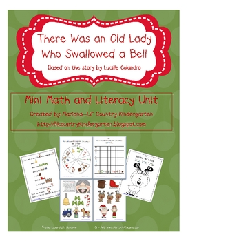There Was an Old Lady Who Swallowed a Bell Mini Math and Literacy Unit
