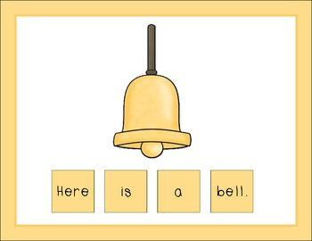 There Was an Old Lady Who Swallowed a Bell Scrambles