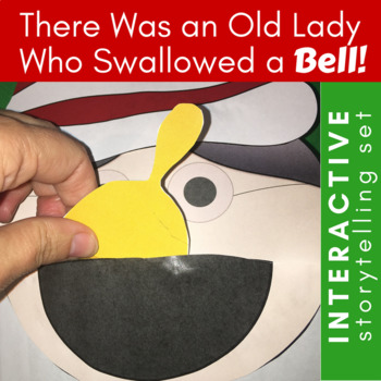 There Was an Old Lady Who Swallowed a Bell Puppets, Storytelling, & Sequencing