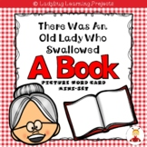 There Was an Old Lady Who Swallowed a Book--Picture / Vocabulary Mini Set