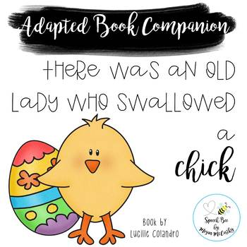 There Was an Old Lady Who Swallowed a Chick Adapted Book