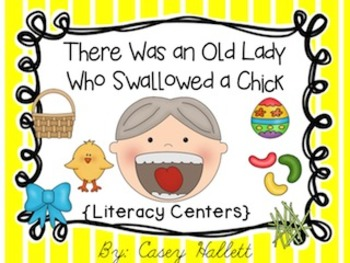 There Was an Old Lady Who Swallowed a Chick {Common Core Aligned}
