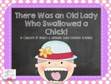 There Was an Old Lady Who Swallowed a Chick {Speech & Language Story Activities}