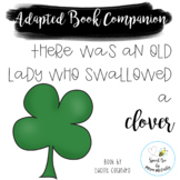 There Was an Old Lady Who Swallowed a Clover Adapted Book