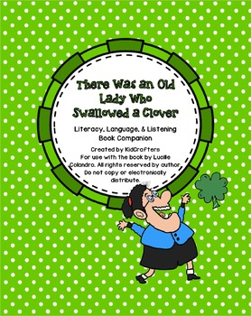 There Was an Old Lady Who Swallowed a Clover Story Companion
