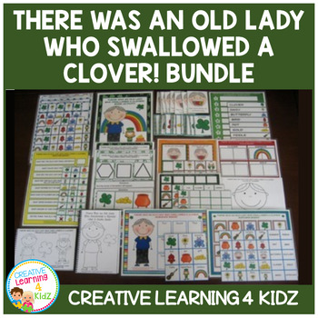 There Was an Old Lady Who Swallowed a Clover! Bundle