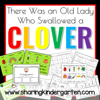 There Was an Old Lady Who Swallowed a Clover Math
