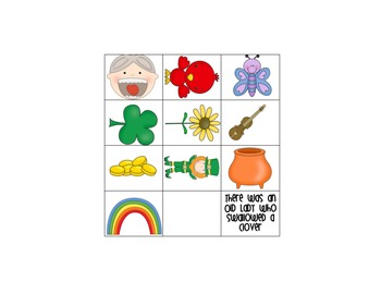 There Was an Old Lady Who Swallowed a Clover: Retelling Pieces