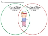 There Was an Old Lady Who Swallowed a Clover/Chick Venn Diagram Spring