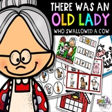 There Was an Old Lady Who Swallowed a Cow: Language Book C