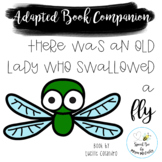 There Was an Old Lady Who Swallowed a Fly Adapted Book