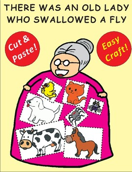There Was an Old Lady Who Swallowed a Fly: Craftivity