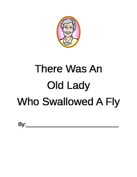 There Was an Old Lady Who Swallowed a Fly - Printable Book