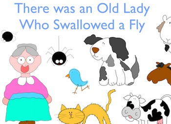 There Was an Old Lady Who Swallowed a Fly Retelling Pack