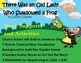 There Was an Old Lady Who Swallowed a Frog, Autism Supports, Speech/Language